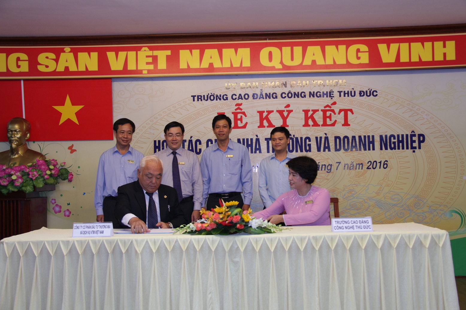 Công Ty CP Đầu Tư TM và Dịch Vụ VTM Việt Nam