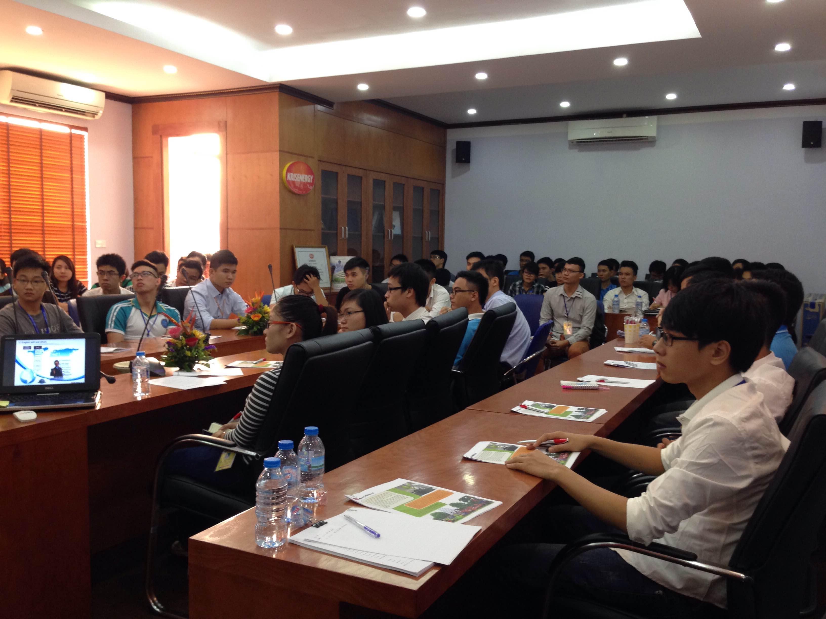 Jgc Vietnam Held A Career Orientation Seminar At Hanoi University