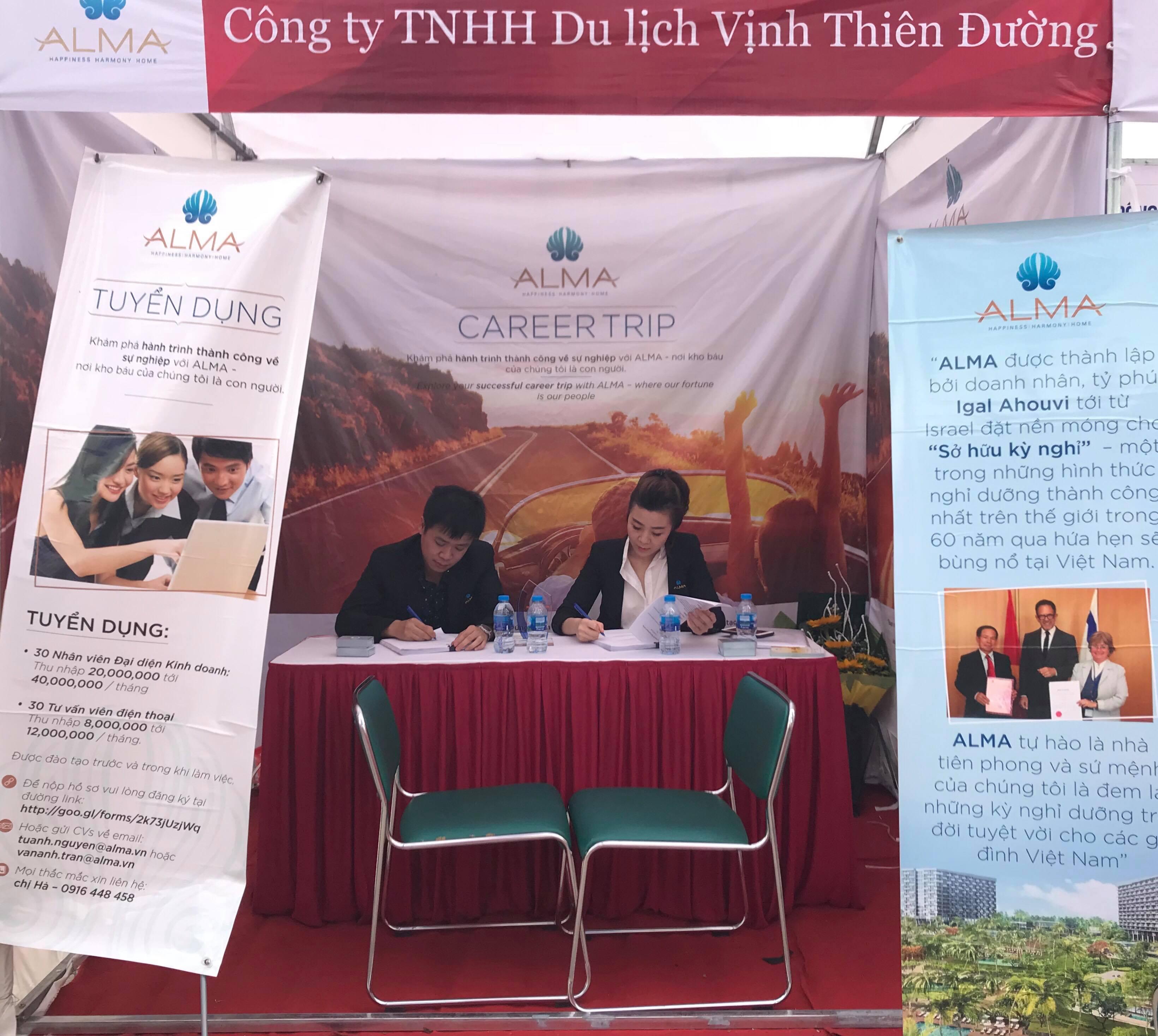 Công ty Alma đem lại cơ hội việc làm cho các bạn sinh viên của trường FPT Polytechnic