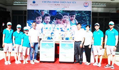 Công ty ALMA trao tặng phần quà trị giá 70 triệu đồng tới Trung Tâm BTXH tỉnh Khánh Hòa