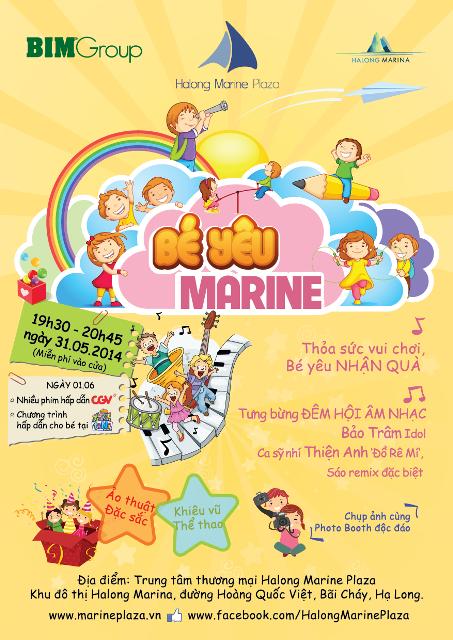 Halong Marine Plaza vui ngày hội trẻ thơ