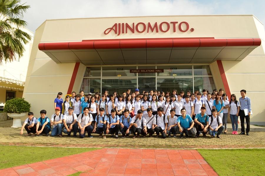 HSSV tham quan thực tế Công ty Ajinomoto Việt Nam - Ngày 30/11/2016.