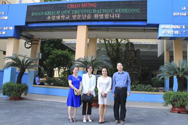 Trường Cao đẳng Công nghệ Thủ Đức ký kết hợp tác MOU cùng Trường Đại học Suseong – Hàn Quốc