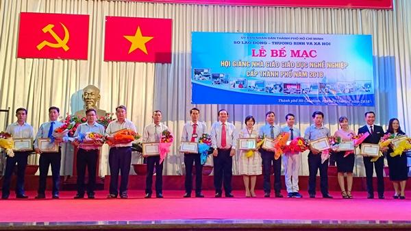 Giảng viên TDC tham gia Hội giảng Nhà giáo giáo dục nghề nghiệp TP. Hồ Chí Minh
