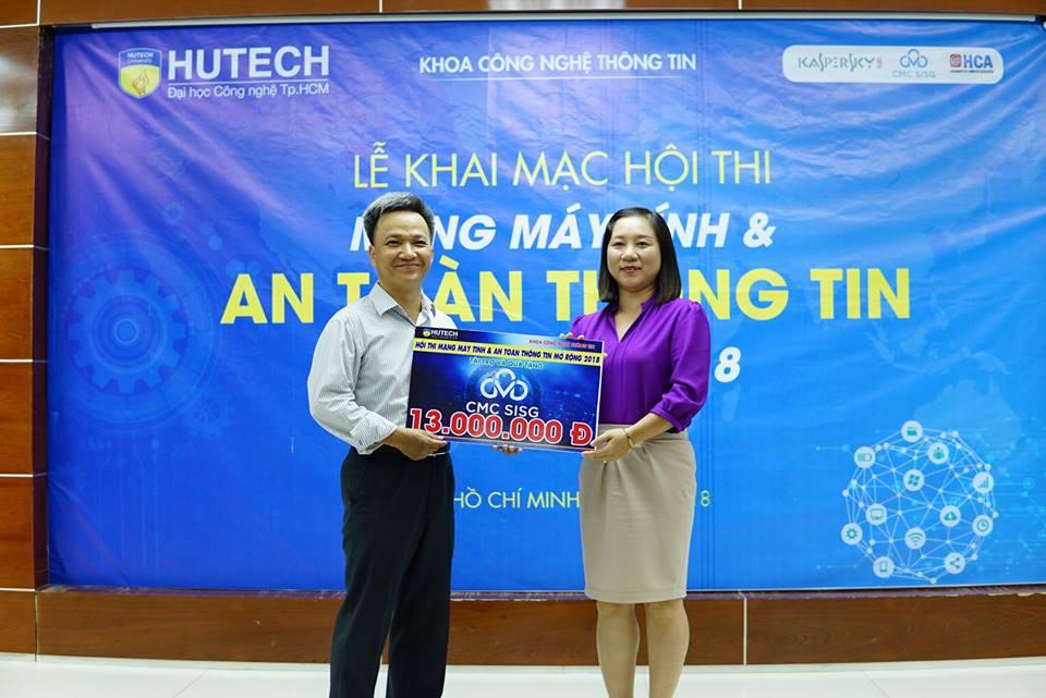CMC SISG tham gia Hội thi Mạng máy tính và An toàn thông tin dành cho Sinh viên Công nghệ Thông tin
