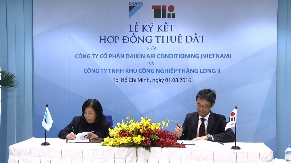 Tập đoàn Daikin đầu tư xây dựng nhà máy sản xuất điều hòa lớn nhất tại Việt Nam