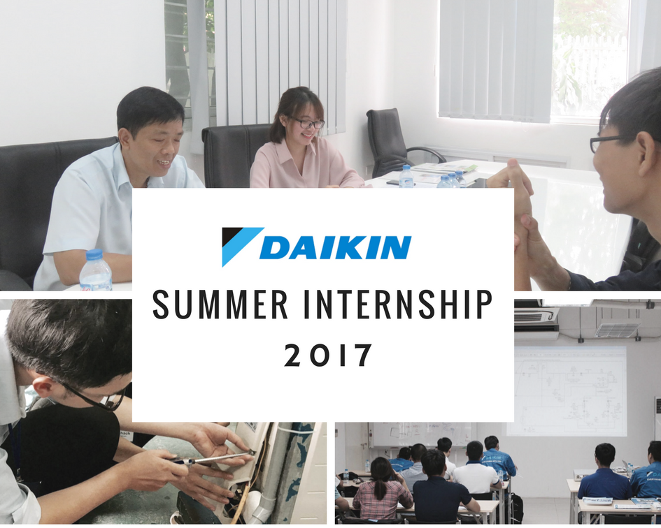 DAIKIN SUMMER INTERNSHIP 2017