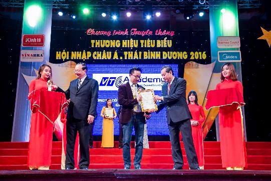 VTC Academy – Top 100 thương hiệu tiêu biểu hội nhập Châu Á – Thái Bình Dương