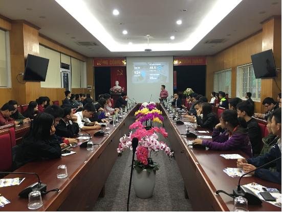 VTC Academy với sinh viên Đại học Kinh tế Kỹ thuật Công nghiệp
