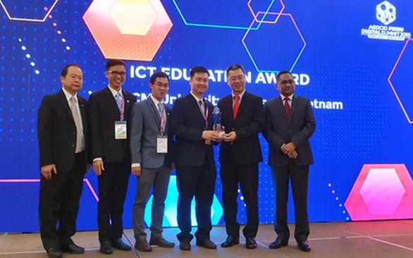 Giải thưởng  ASOCIO ICT Awards dành cho Trường Đại học Khoa học Tự nhiên