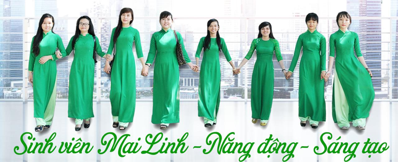 Sinh viên Trường Trung cấp Mai Linh