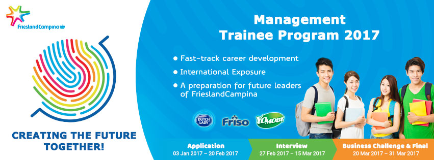 FrieslandCampina Viet Nam Management Trainee Program (FCV-MT)