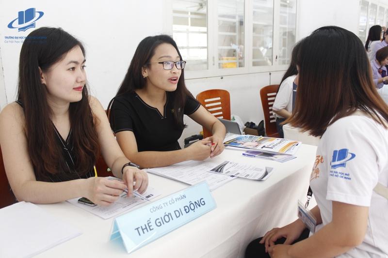 Hơn 1500 cơ hội việc làm dành cho sinh viên Trường Đại học Mở Thành phố Hồ Chí Minh (OU) tại Ngày Hội Nghề Nghiệp 2018.