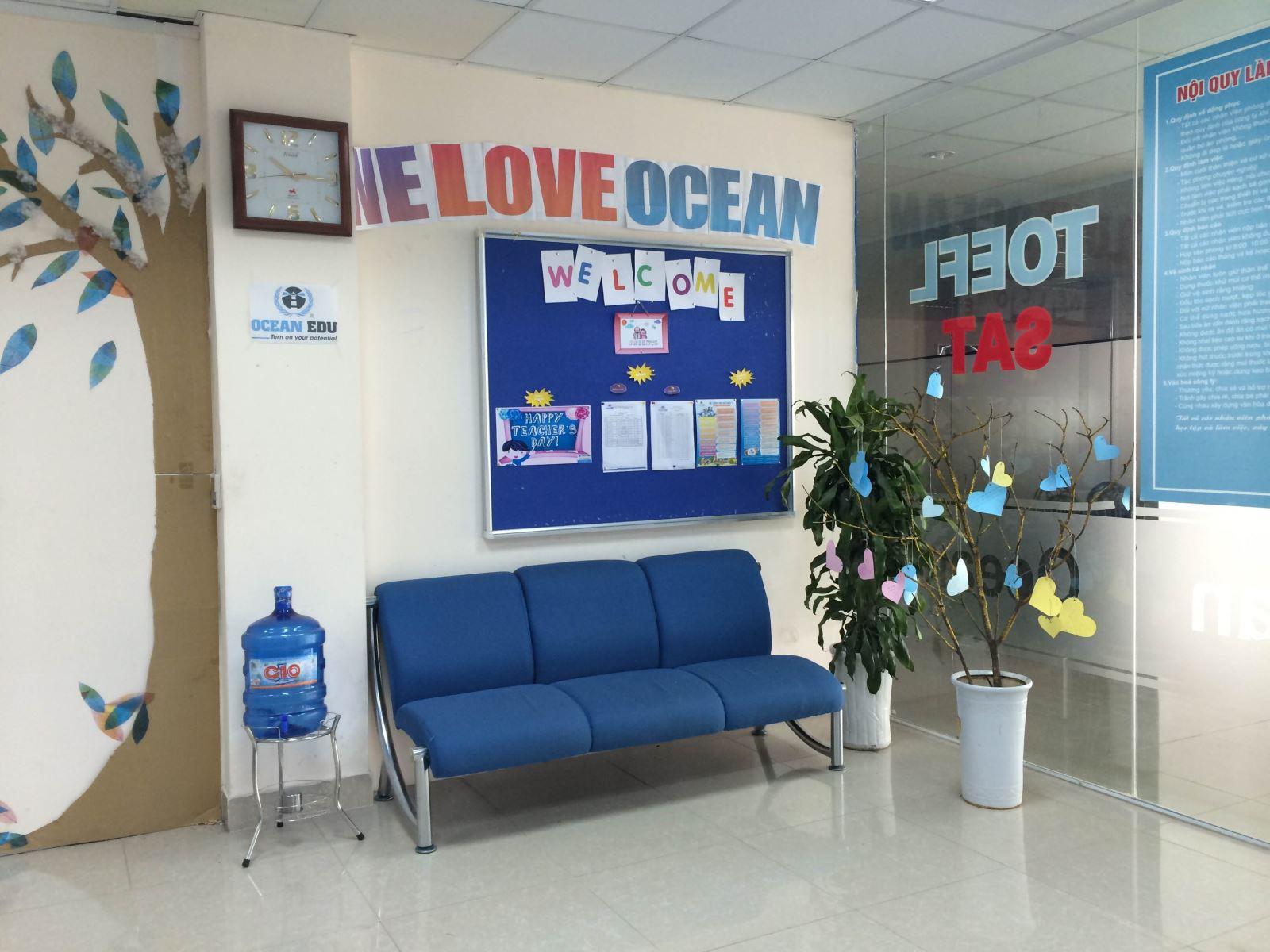 Học viên Ocean Edu Phúc Yên viết thư tặng thầy nhân ngày 20-11