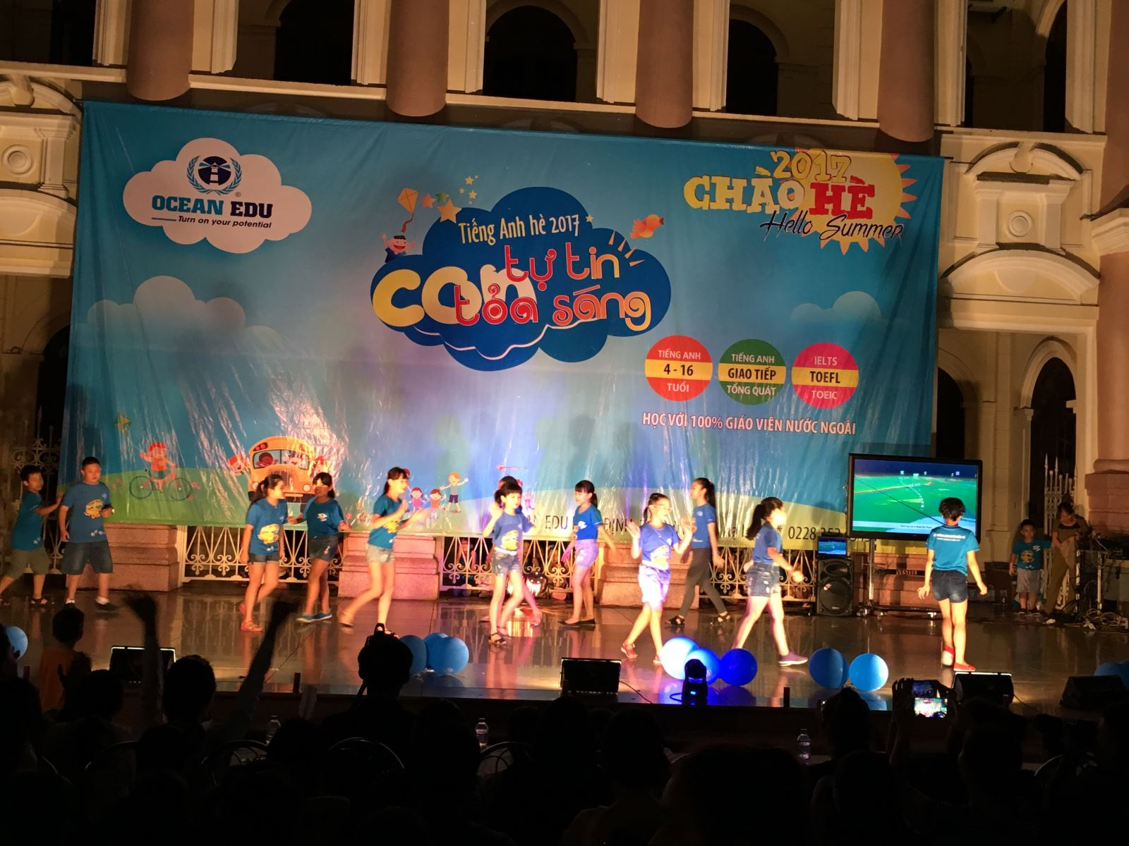 Ocean Edu Nam Định - Đại nhạc hội Hello summer 2017