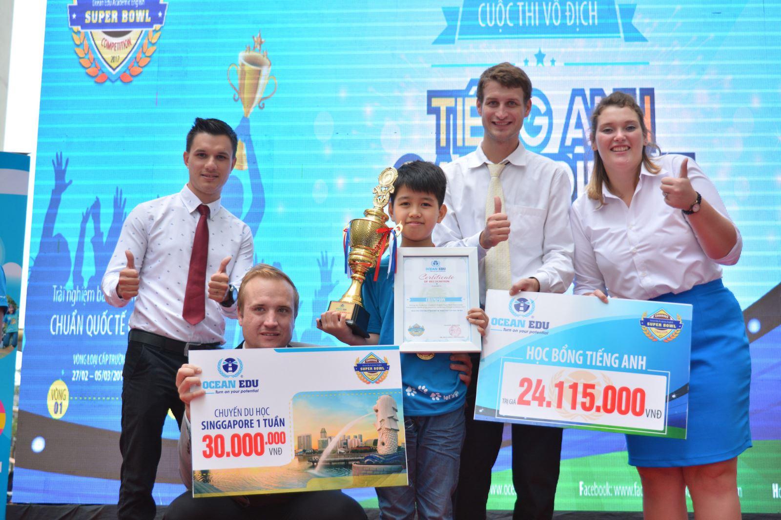 Ocean Edu triển khai quỹ học bổng khuyến học lên tới 10 tỷ đồng