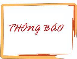 TB 461 về việc tổ chức kỳ thi phận loại xếp lớp trình độ Tiếng Anh đợt 3 cho SV ĐHCQ khóa 04, 05, 06 và 07