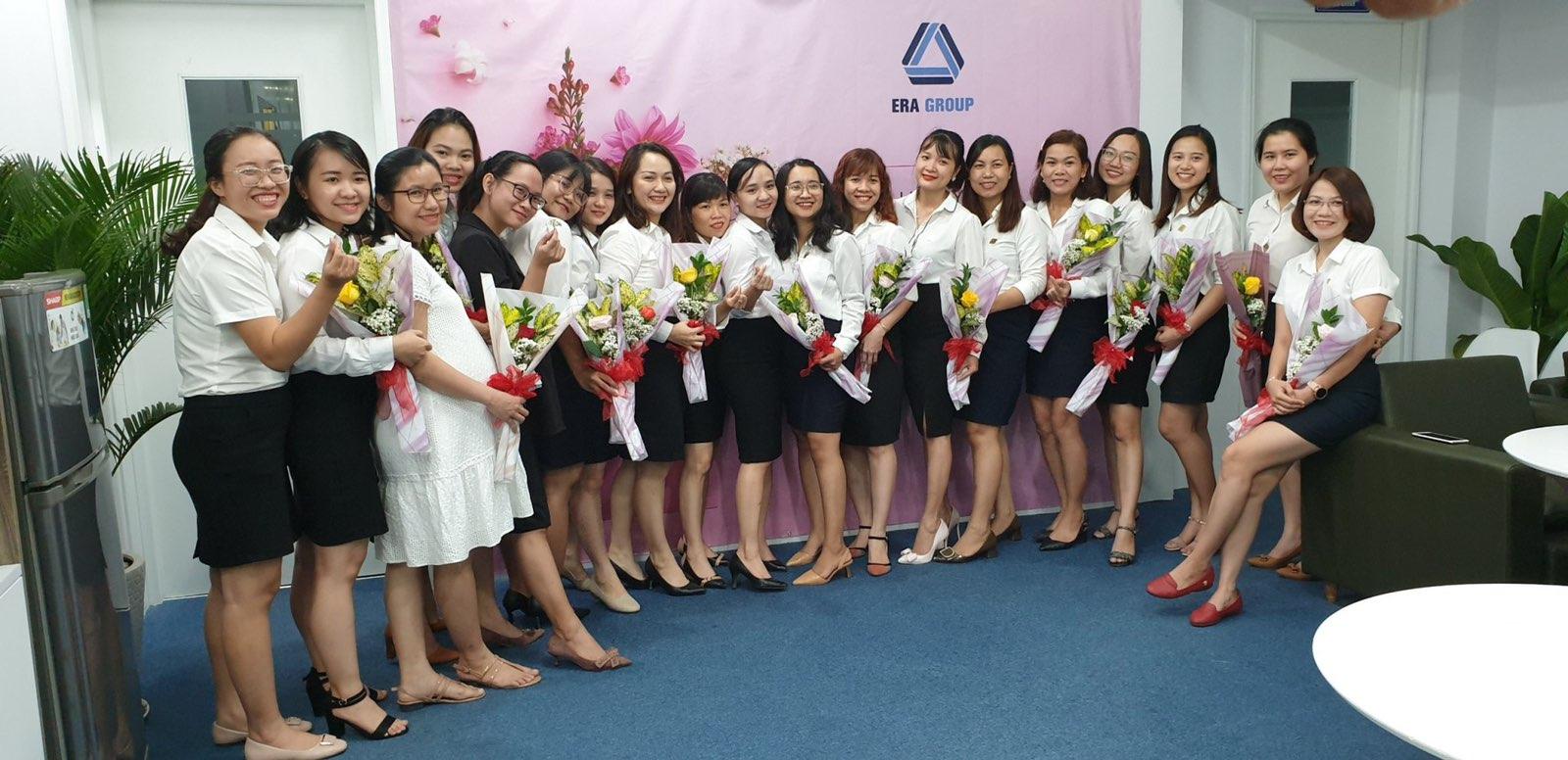 Hình ảnh những người phụ nữ quyền lực taig Era Group