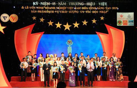 Eurowindow nhận danh hiệu Doanh nghiệp Việt Nam Điển hình Sáng tạo năm 2019