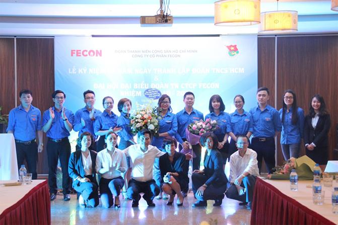 Đại hội Đoàn Thanh niên công ty FECON nhiệm kỳ 2018-2020
