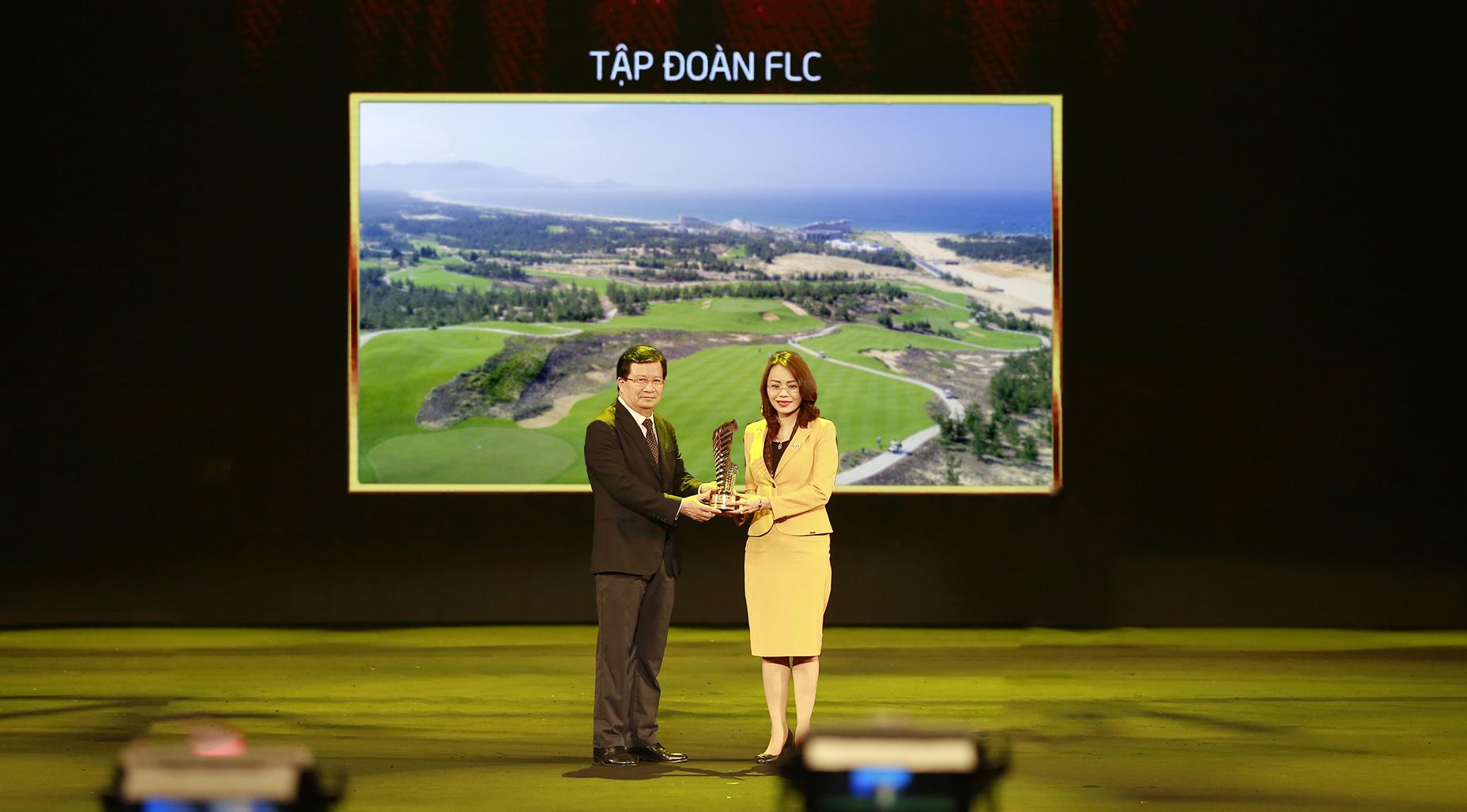 Tập đoàn FLC đoạt 3 giải danh giá của Giải thưởng Quốc gia Bất động sản Việt Nam 2018