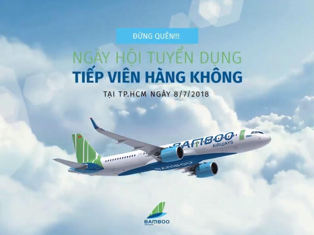 ĐỪNG QUÊN BẠN CÓ HẸN VỚI BAMBOO AIRWAYS TẠI SÀI GÒN VÀO THÁNG 7 NÀY NHÉ!