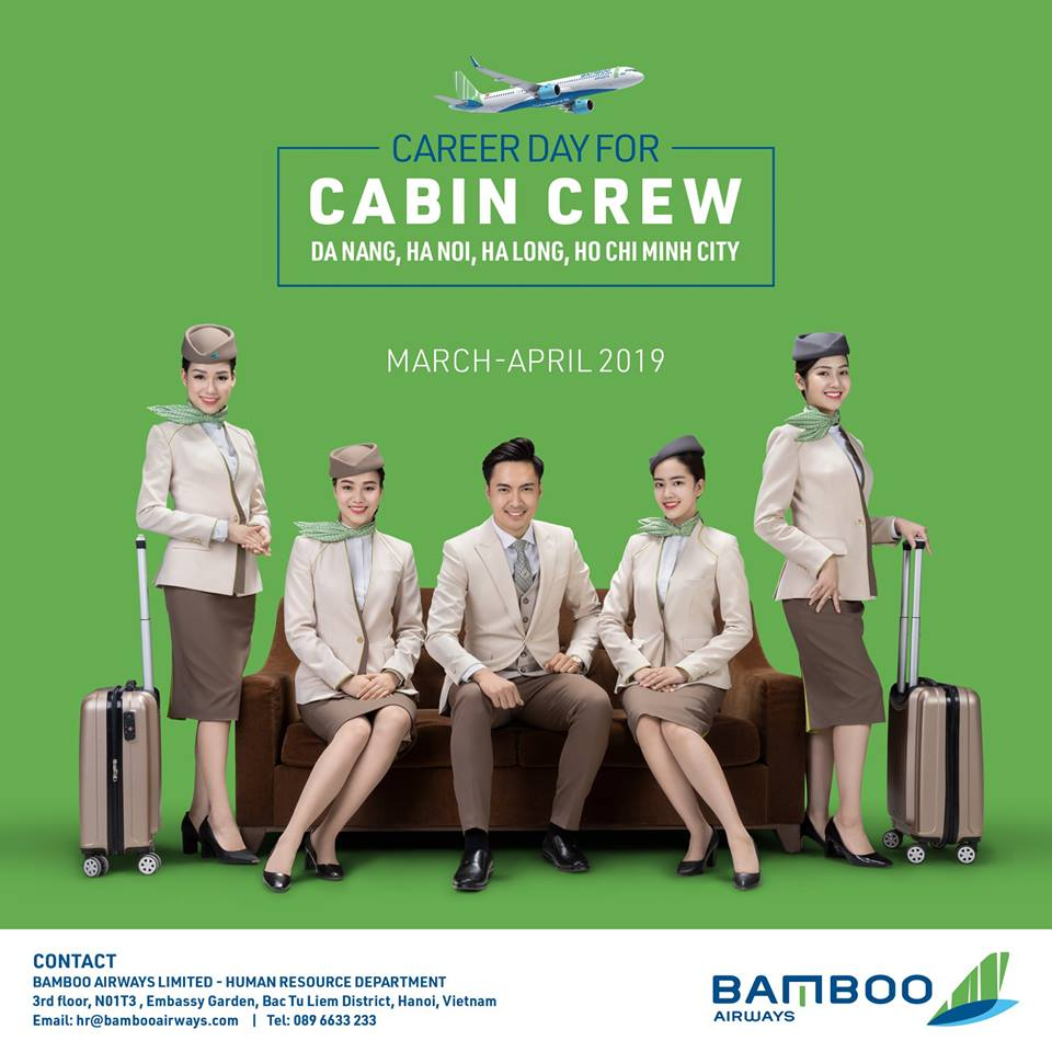 BAMBOO AIRWAYS - FLIGHT ATTENDANTS CAREER DAY