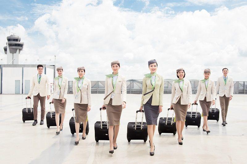 Bamboo Airways tuyển dụng tiếp viên hàng không quy mô lớn Tháng 11&12 năm 2019