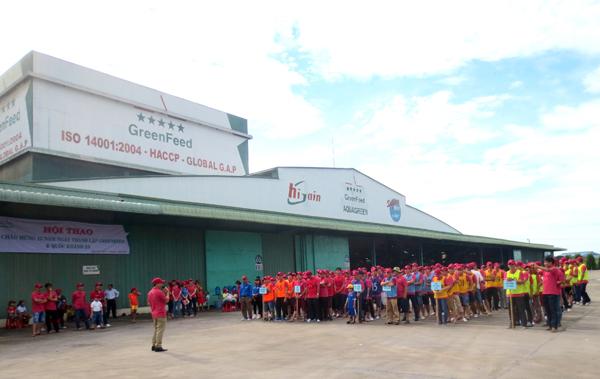 Hội thao chào mừng 13 năm thành lập GreenFeed Việt Nam và Quốc khánh 2/9
