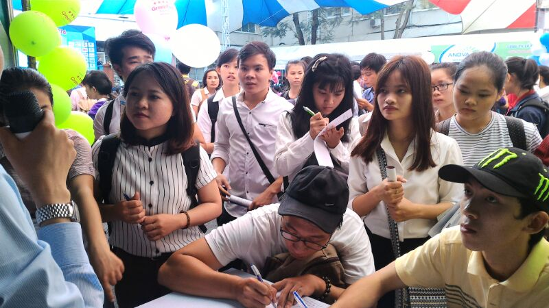 Hàng nghìn sinh viên Đại học Nông Lâm muốn gia nhập GreenFeed Việt Nam