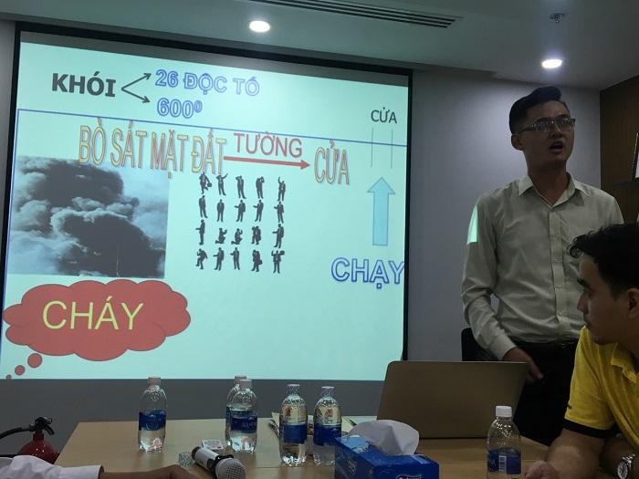GreenFeed Việt Nam triển khai công tác phòng cháy chữa cháy cho CB – CNV tại văn phòng HCM