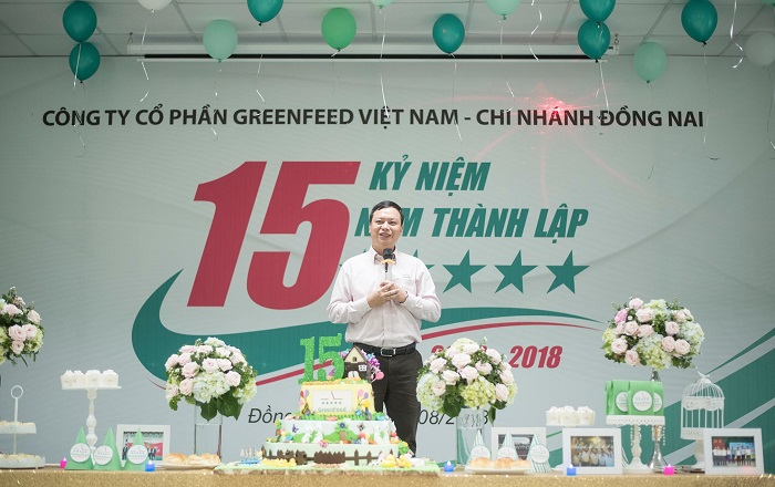 Kỷ niệm 15 năm thành lập GreenFeed