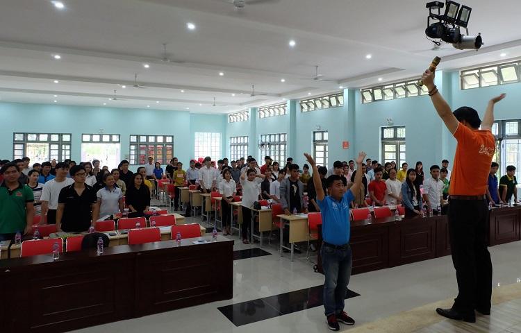 """GreenFeed tham gia chương trình """"Hành trình đến thành công"""" cùng sinh viên ĐH Lâm Nghiệp phân hiệu Đồng Nai"""