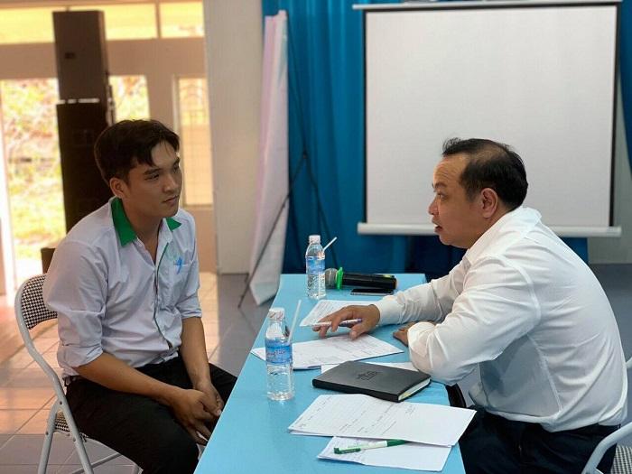"""Hơn 150 sinh viên tham dự buổi tọa đàm """"Định hướng thực tập tốt nghiệp"""" tại Tiền Giang"""