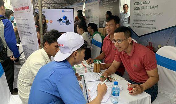 """GreenFeed Việt Nam tham dự """"Ngày hội tuyển dụng việc làm 2019"""" tại ĐH Công nghiệp Tp. HCM"""
