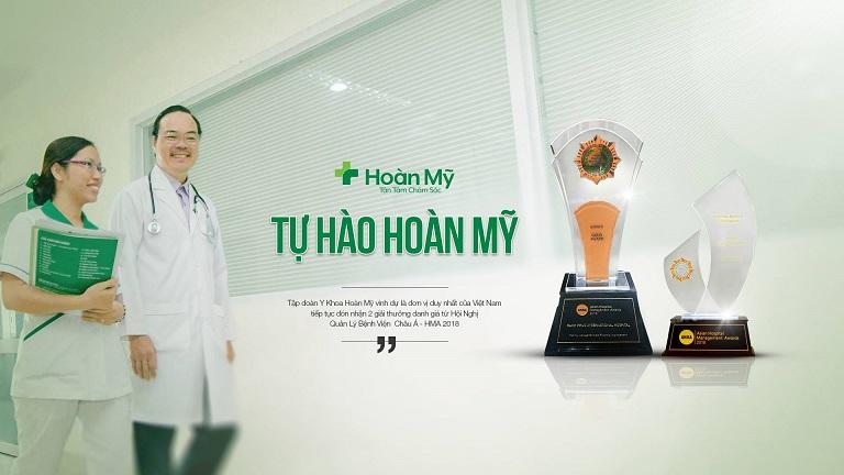 Hoàn Mỹ Đón Nhận 02 Giải Thưởng Tại Hội Nghị Quản Lý Bệnh Viện Châu Á - 2018