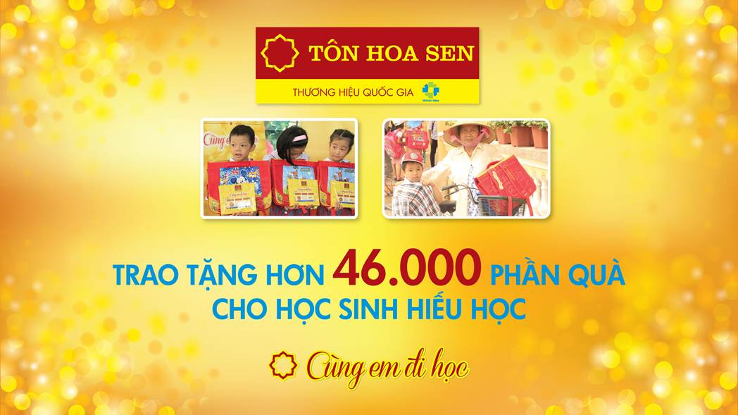 """CHUYẾN XE """"TÔN HOA SEN – CÙNG EM ĐI HỌC 2017"""" SẴN SÀNG LĂN BÁNH"""