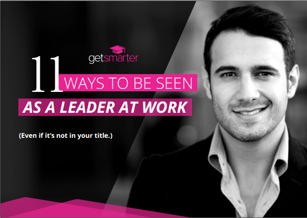 11 ways to be seen as a Leader in Work
