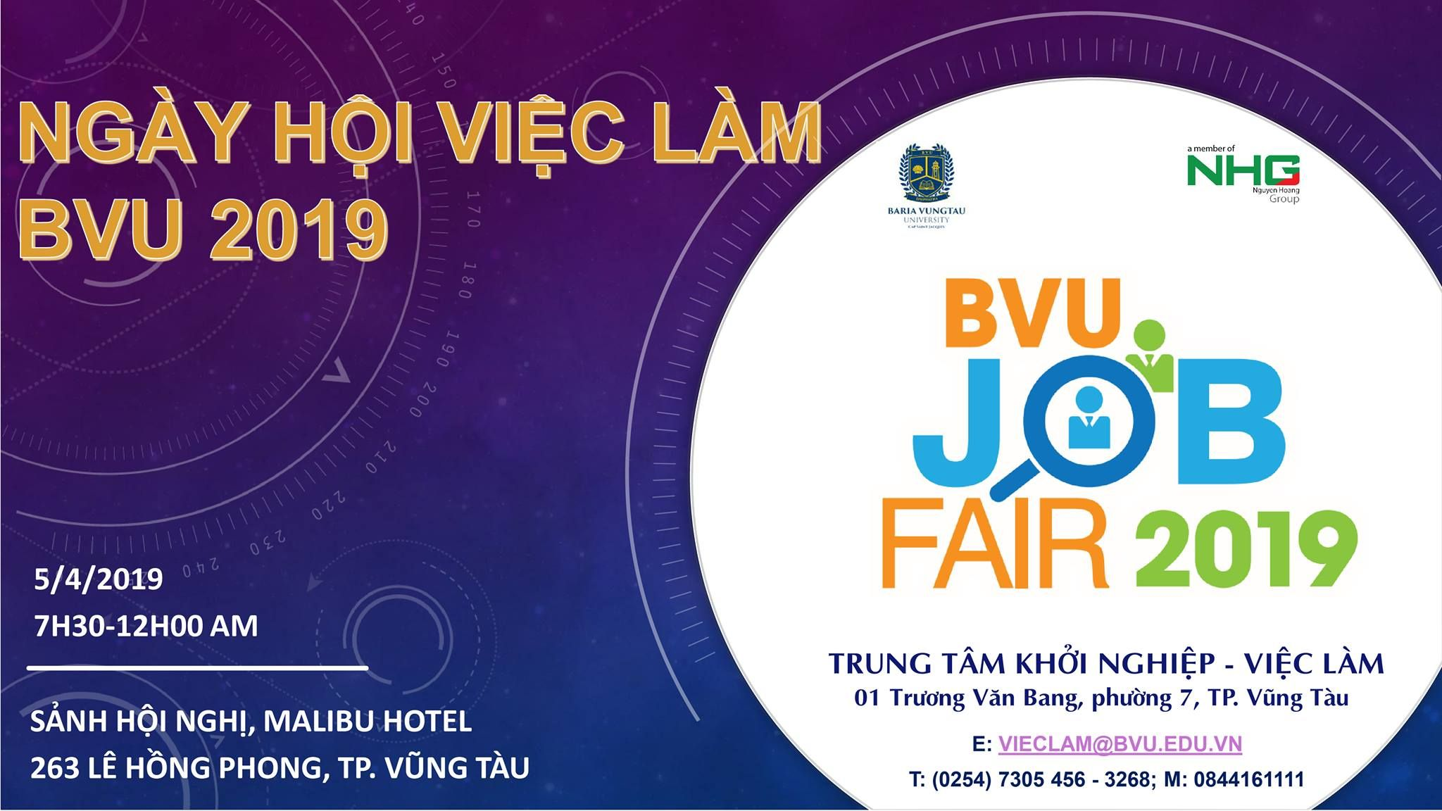 Career Day at Ba Ria Vung Tau University