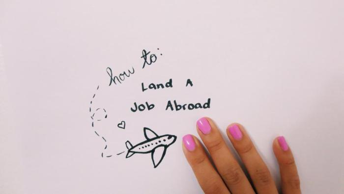 How to land a job abroad
