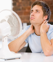 How much does temperature affect your productivity?