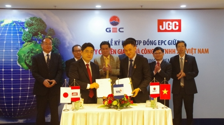 The Execution of Krong Pa Solar-Power Plant - JGC Vietnam Co