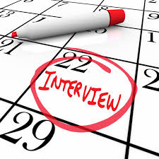 What should you do when being invited to interview?