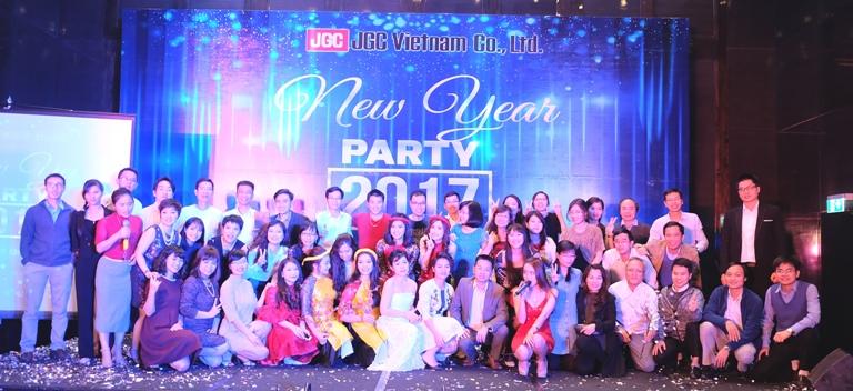 Tiệc năm mới 2017 công ty TNHH JGC Việt Nam