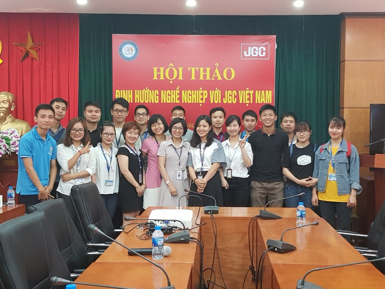 JGC Vietnam will hold a Career orientation seminar at Hanoi University of Mining and Geology.
