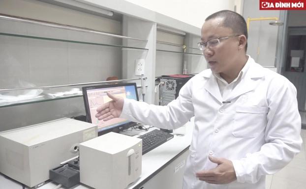 Thiết bị UV Spectrophotometer đo hàm lượng Styrene trong nước.