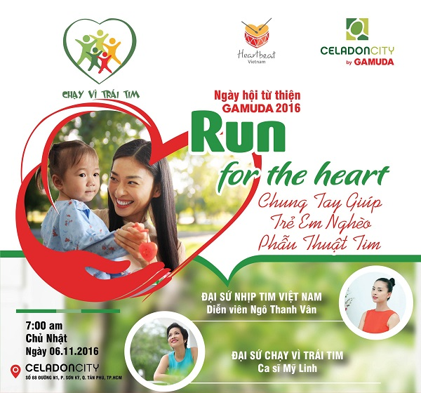 Chạy vì trái tim 2016 (Run for the heart)