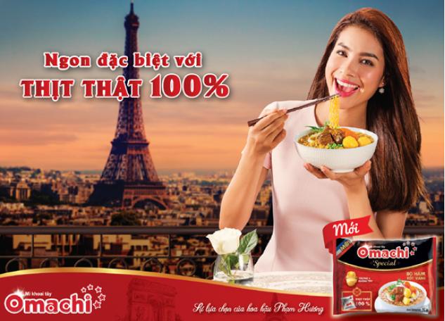 Masan bước chuyển mới trong ngành mì - Omachi Special – Mì khoai tây với thịt thật 100% - Vị Bò Hầm Sốt Vang