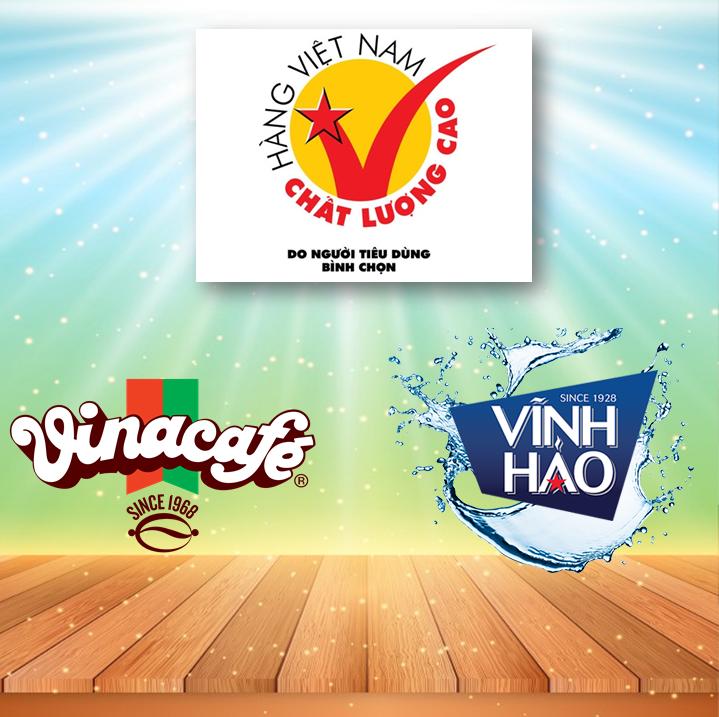 Vinacafe Biên Hòa (VCF) và Vĩnh Hảo (VHW) nhận danh hiệu Hàng VN Chất Lượng Cao năm 2017