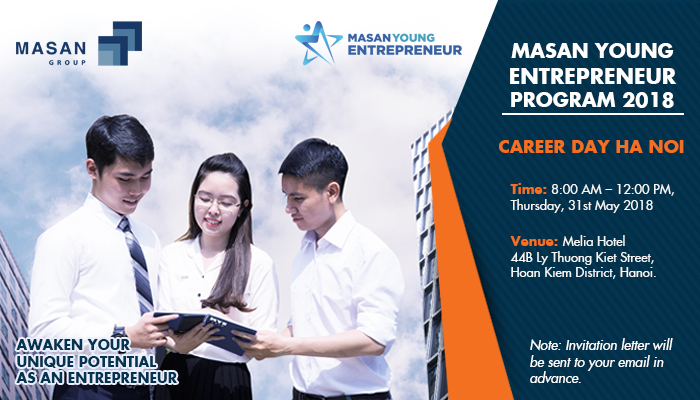 Masan Group - MYE 2018 - Career Day in Ha Noi